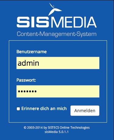 Login Demo-Seite